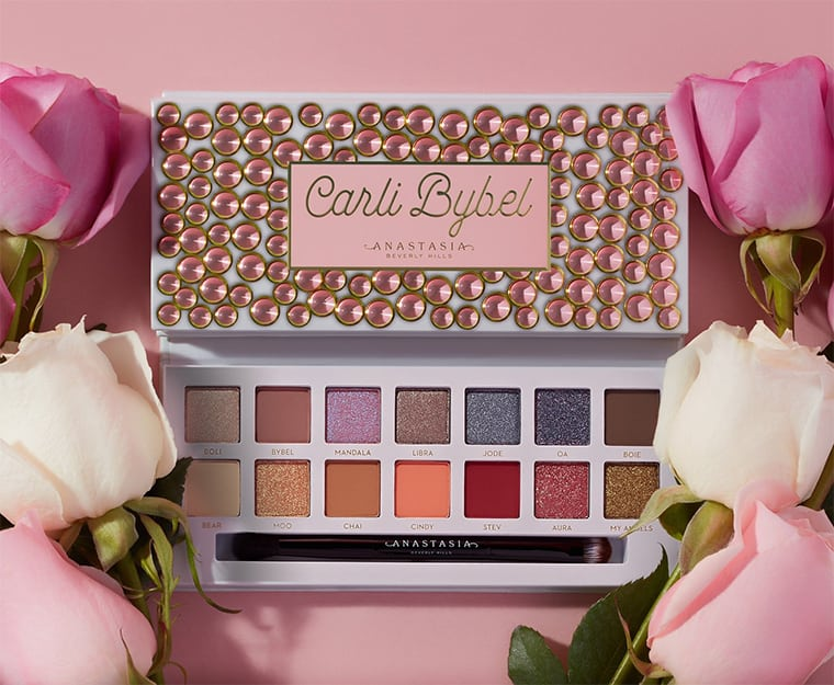 Anastasia Beverly Hills x Carli Bybel Eyeshadow and Pressed Pigment Palette visual 2