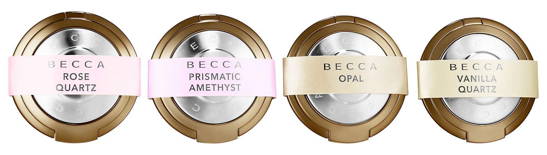 Znalezione obrazy dla zapytania Becca Shimmering Skin Perfector Pressed Highlighter Mini Macaron Set