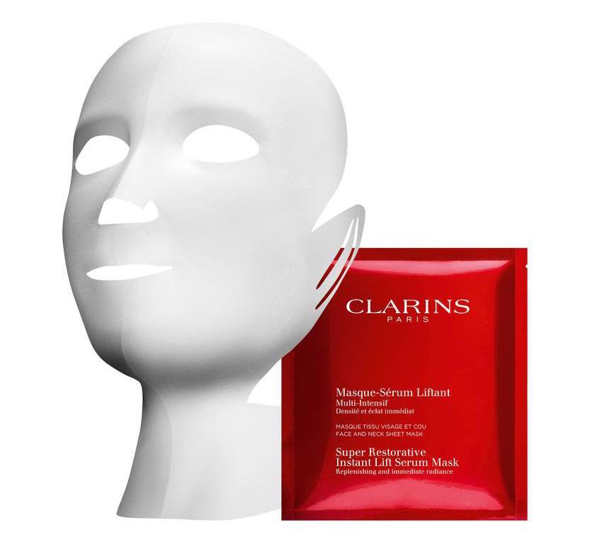 Clarins-Super-Restorative-Instant-Lift-Serum-Mask
