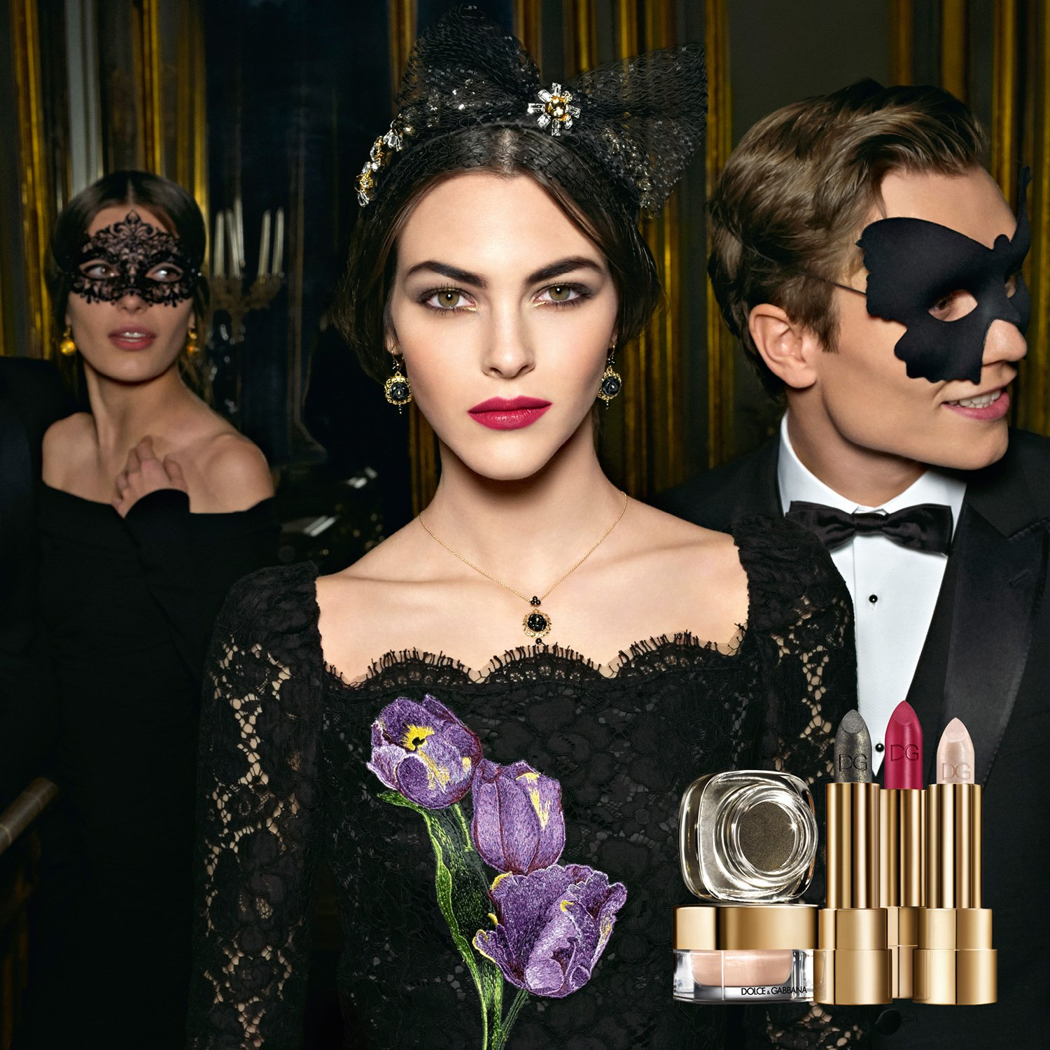 Dolce&Gabbana Baroque Night Out Collection for Holiday 2016