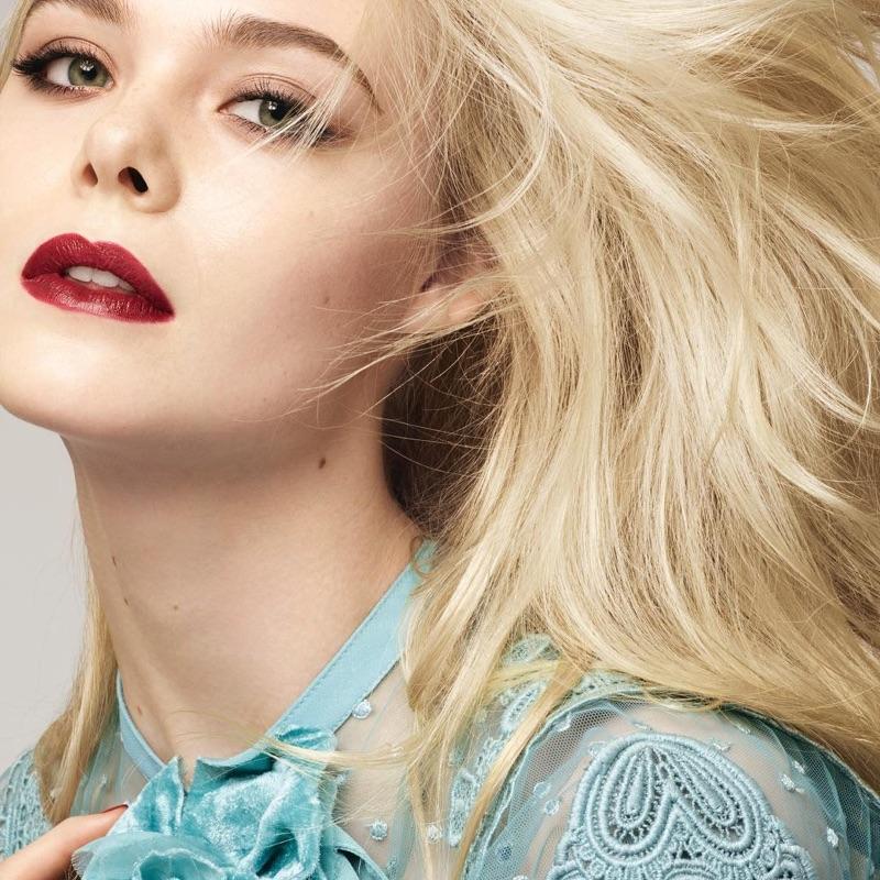 Elle-Fanning-LOreal-Makeup