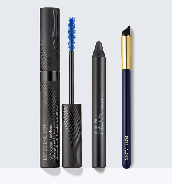 Estee-Lauder-Sumptuous-Knockout-Mascara,-SuperNoir,-Sculpting-Brush
