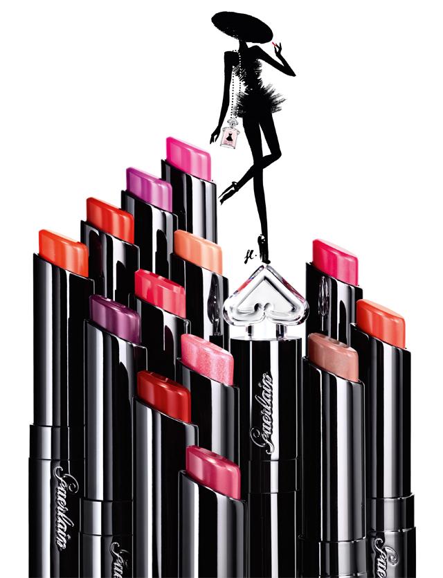 ea3eb3b774a Guerlain La Petite Robe Noire Makeup for Spring 2016