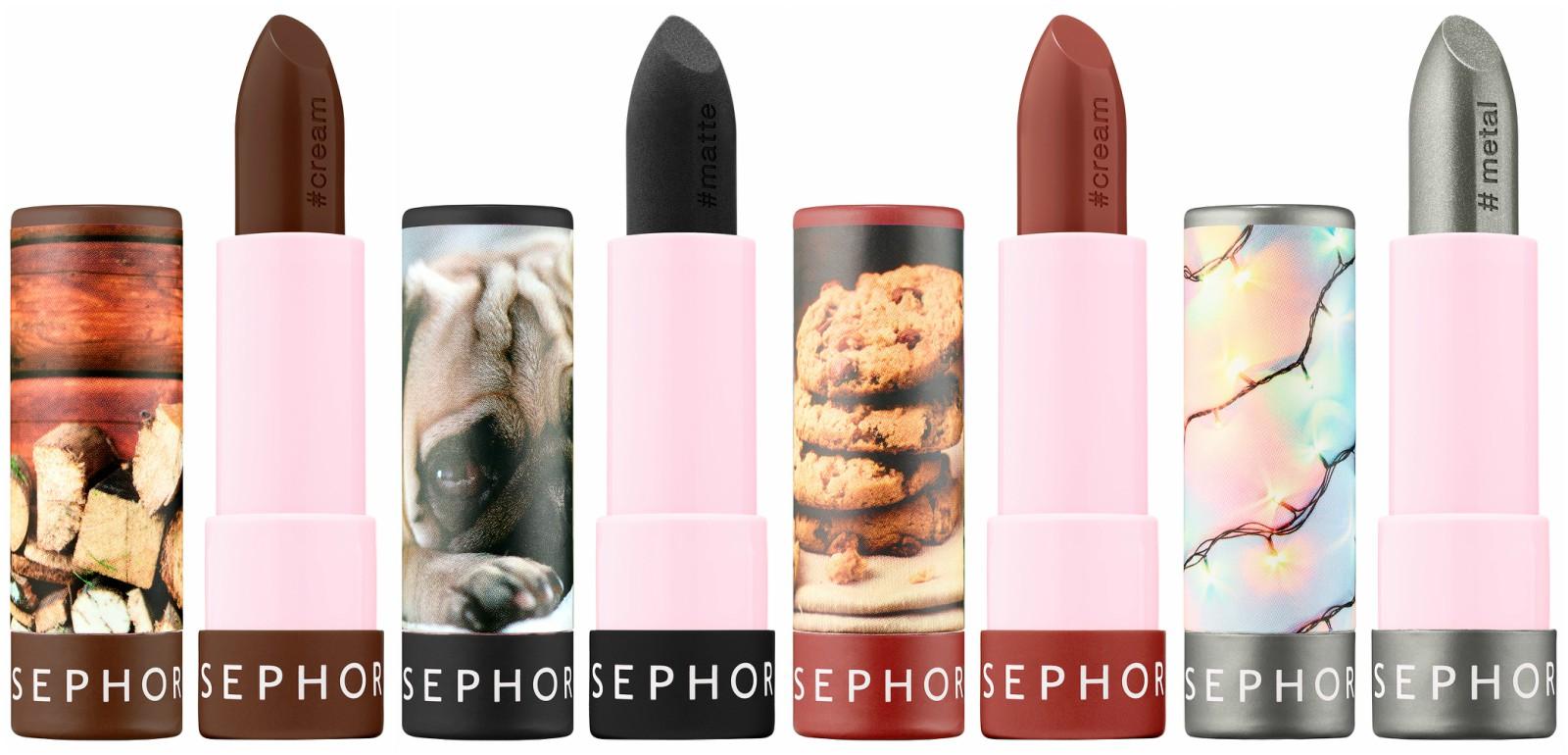 sephora lip stories dark shades photo
