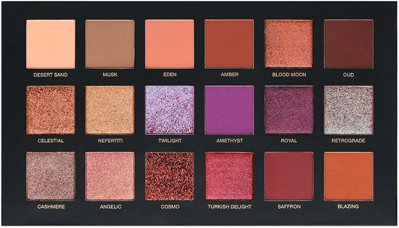 Huda Beauty Desert Dusk Eyeshadow Palette (4)