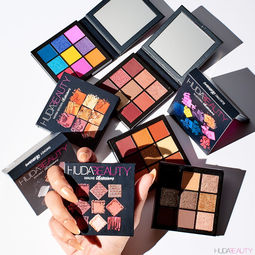 huda beauty to launch obsessions eyeshadow palettes news. Black Bedroom Furniture Sets. Home Design Ideas
