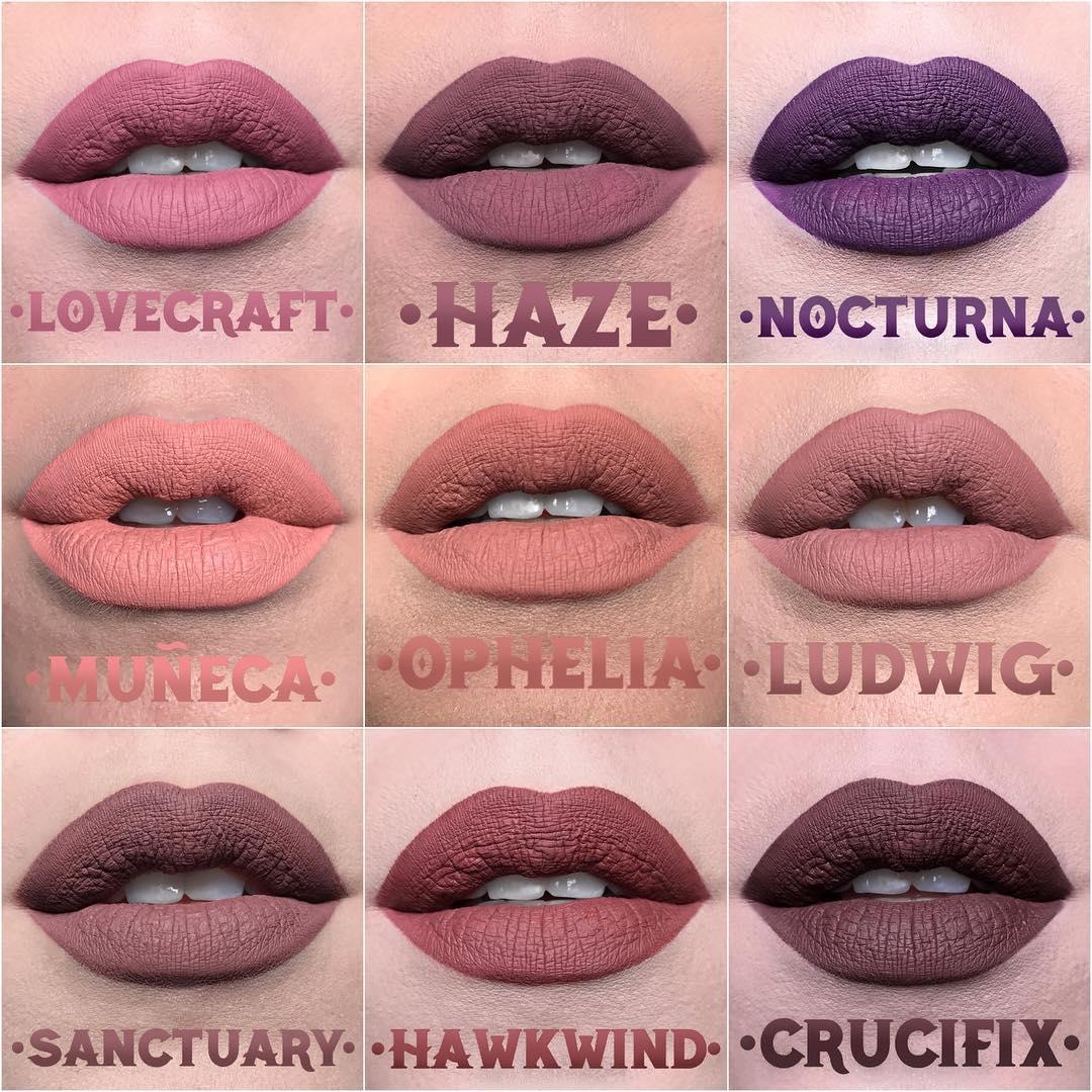 Kat Von D Everlasting Liquid Lip shades part 3