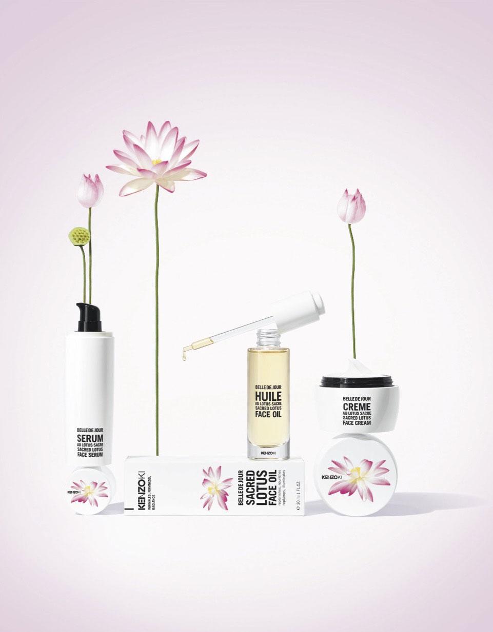 db85e211 Kenzoki Belle De Jour Sacred Lotus Collection | News | BeautyAlmanac