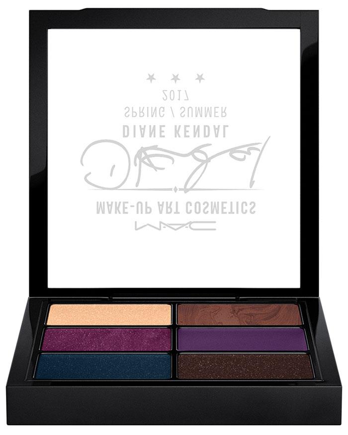MAC Diane Kandal Glamourize Me Cream Colour Shadow x 6
