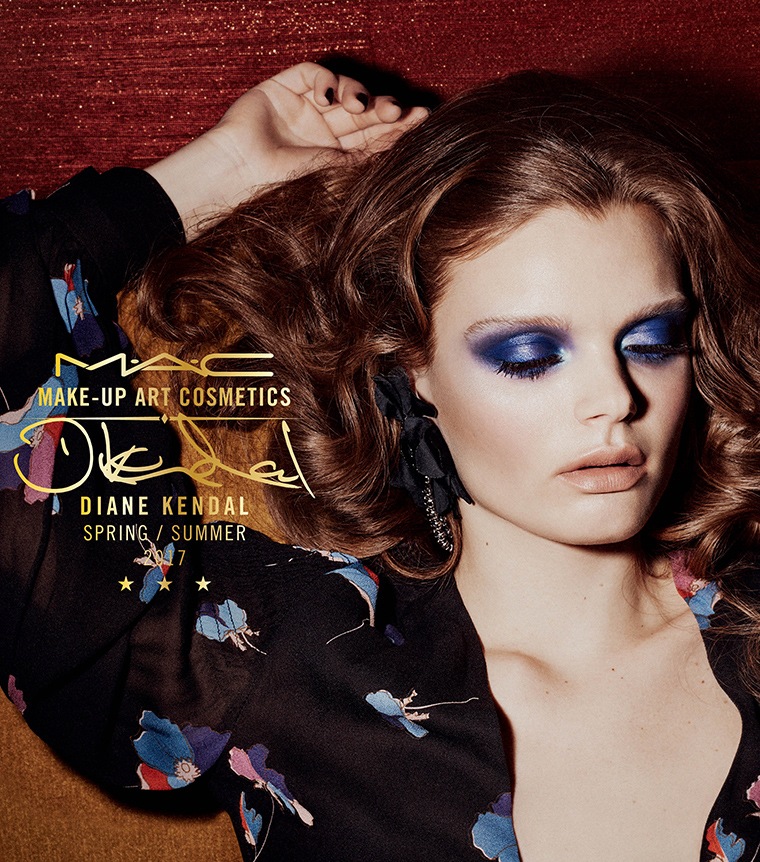 MAC x Diane Kendal visual