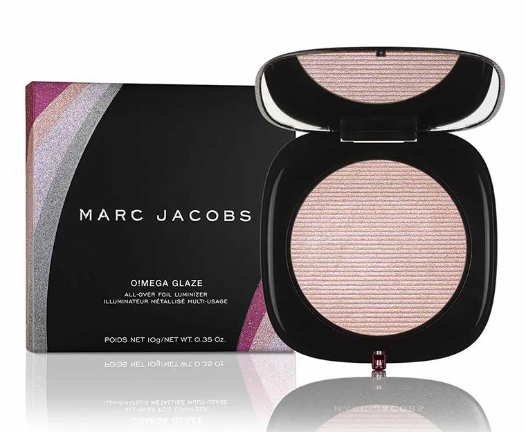 Marc Jacobs O!Mega Glaze All-Over Foil Luminizer Showstoper Glam Rock Holiday 2019