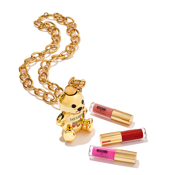 Moschino + Sephora Collection Bear Lip Gloss Chain
