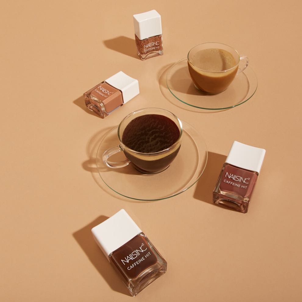 Nails INC Caffeine Hit Collection (3)