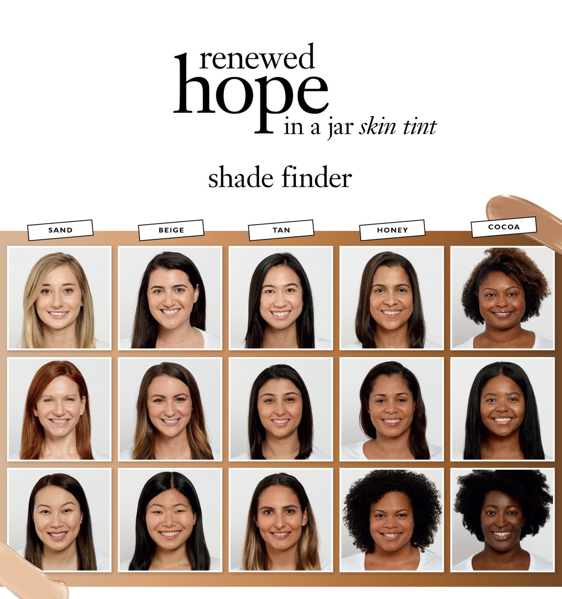 Philosophy Renewed Hope in a Jar Skin Tint shade finder