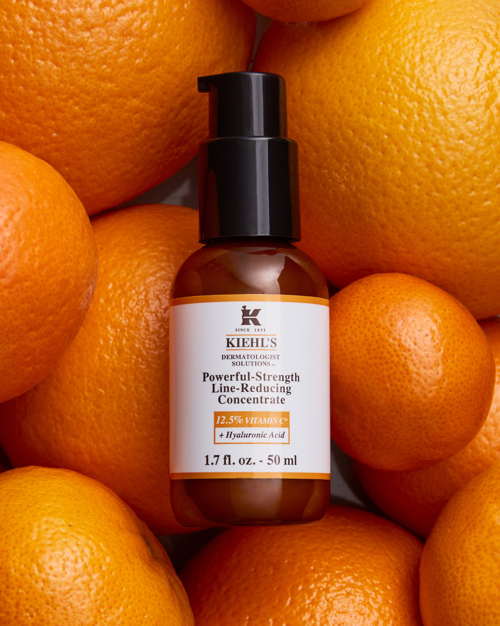 Kiehl's Since 1851 updates the Powerful-Strength Line-Reducing Concentrate