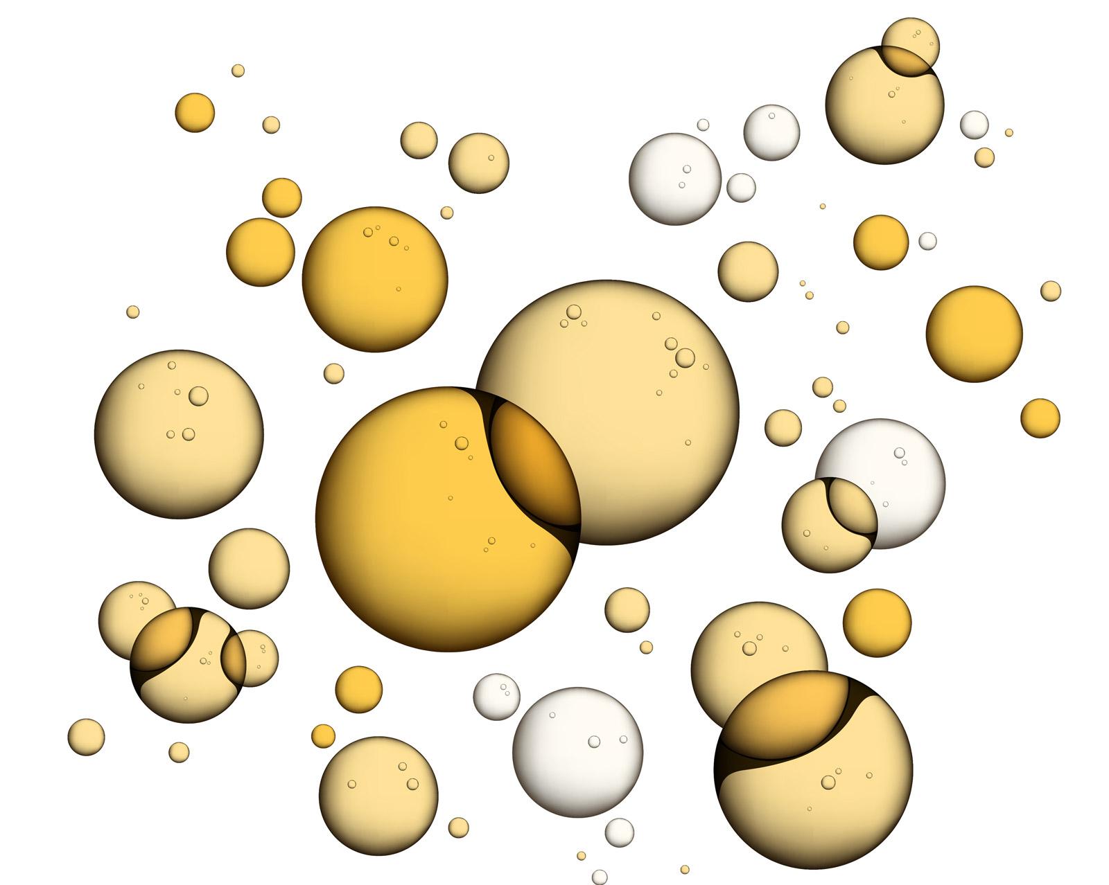 Serum-bubbles
