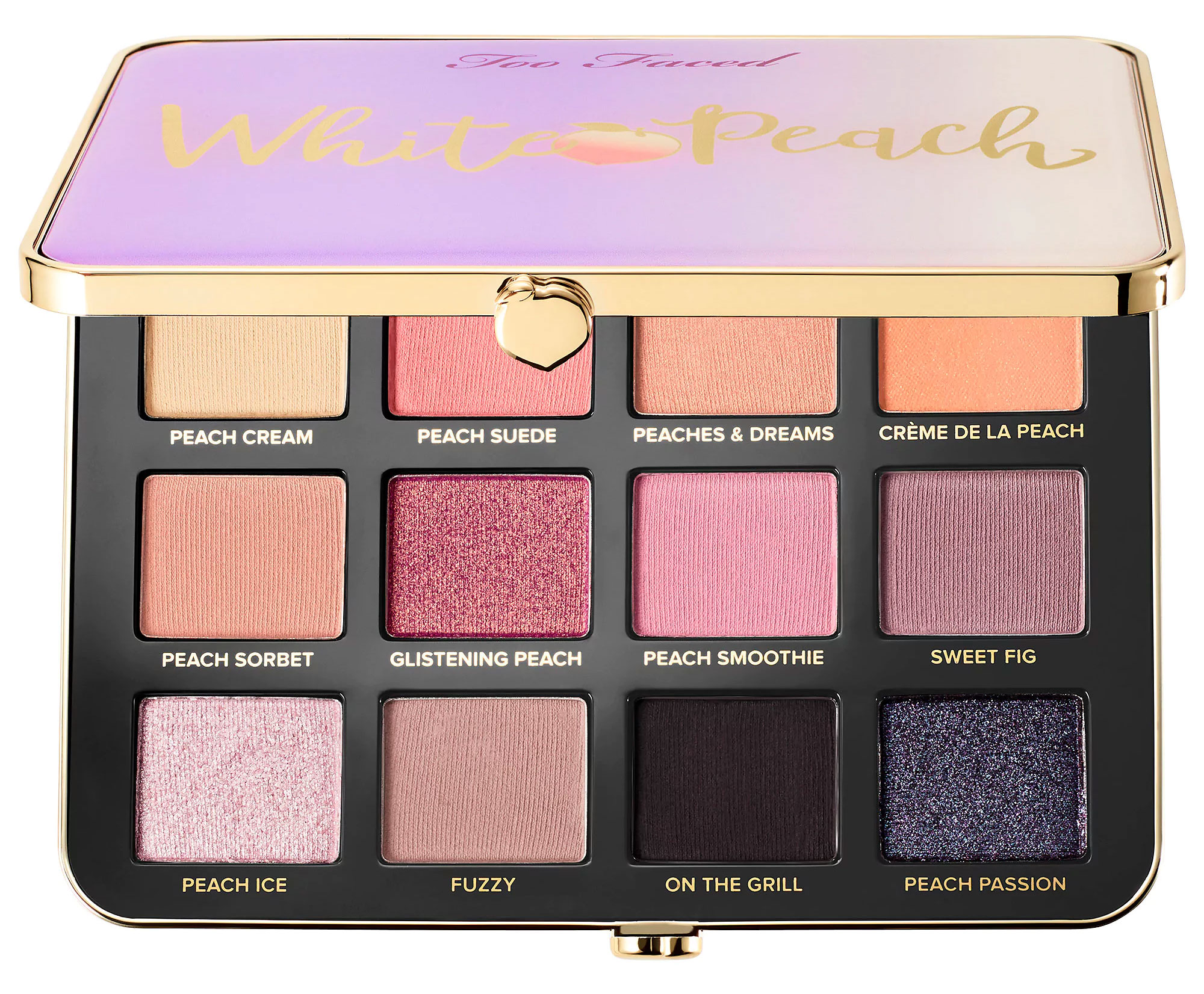 Just Peachy Too Faced Palette Natural Looks