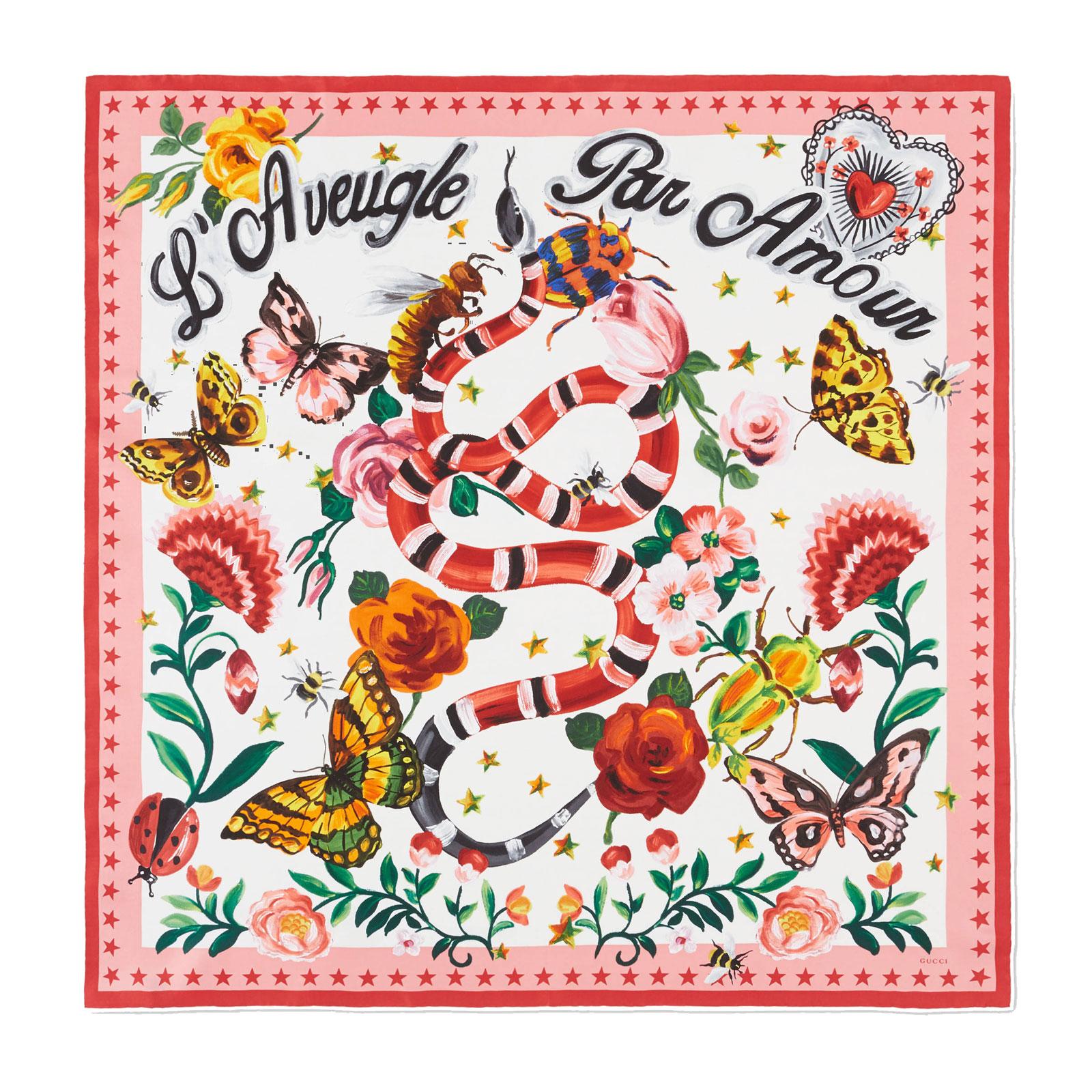 Gucci Garden Print