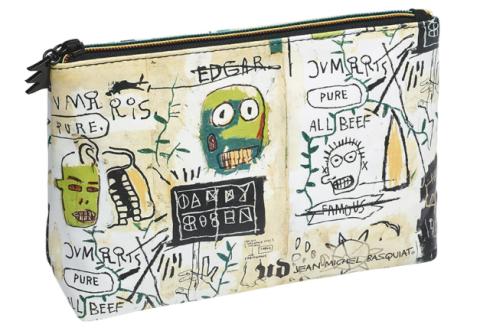 Urban Decay x Jean-Michel Basquiat 1983 makeup bag