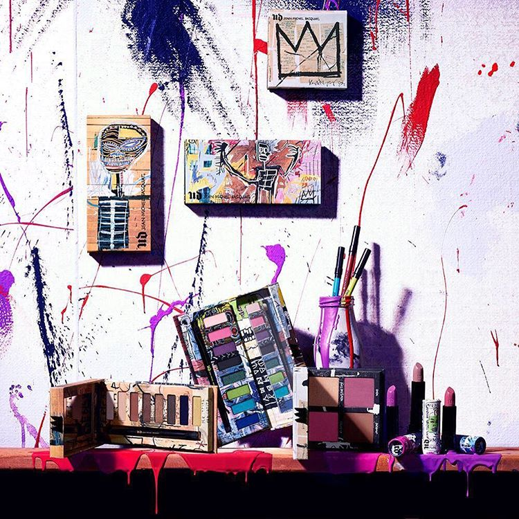 Urban-Decay-x-Jean-Michel-Basquiat Collection background
