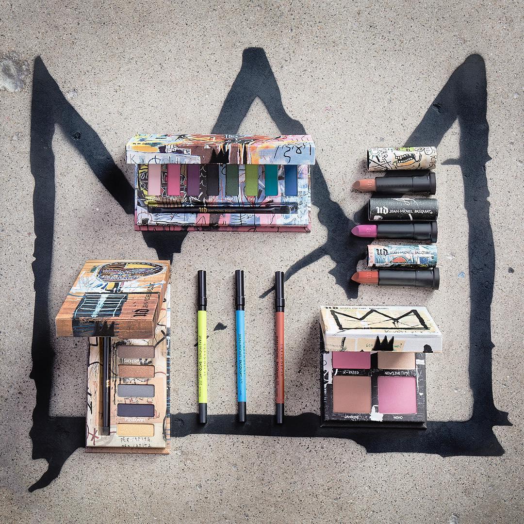 Urban-Decay-x-Jean-Michel-Basquiat Collection