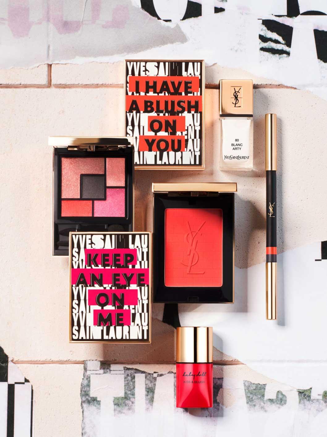 yves saint laurent makeup for spring 2017 news. Black Bedroom Furniture Sets. Home Design Ideas