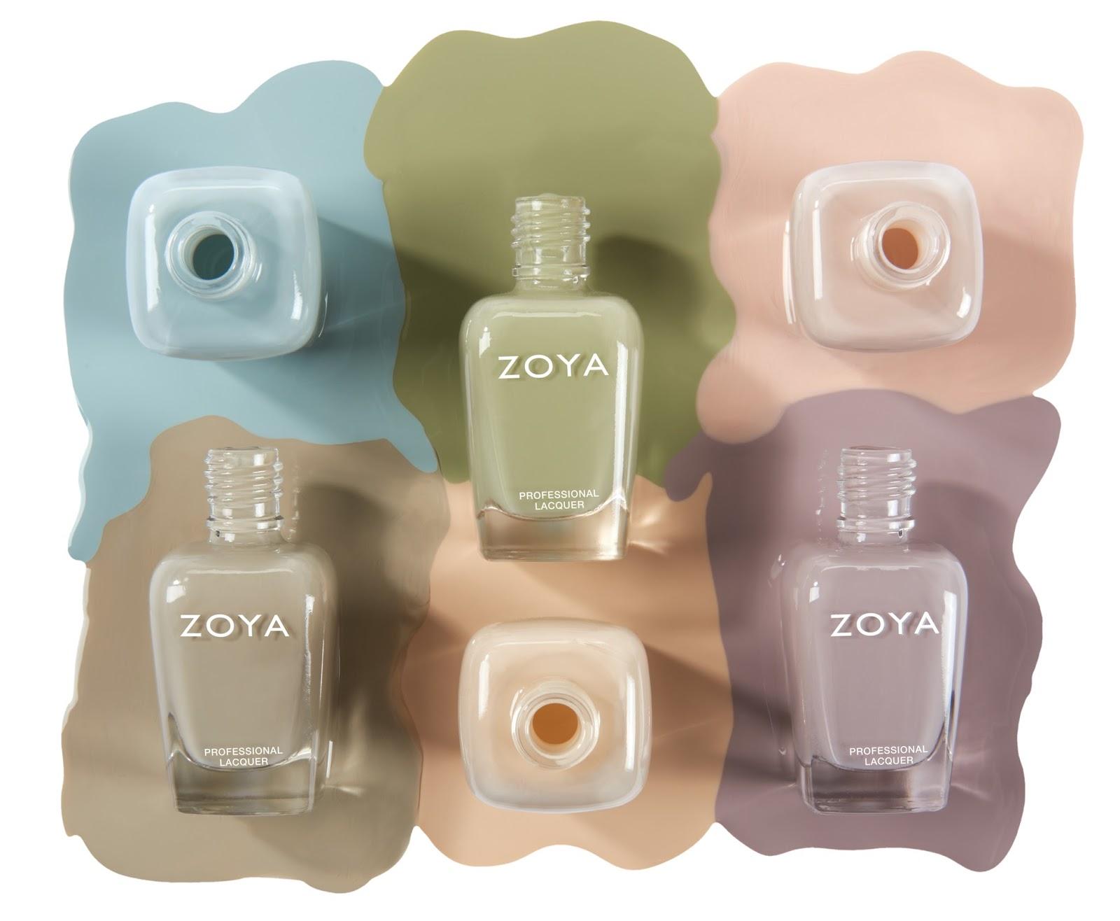 Zoya Whispers Nail Polish Collection News - BeautyAlmanac.com