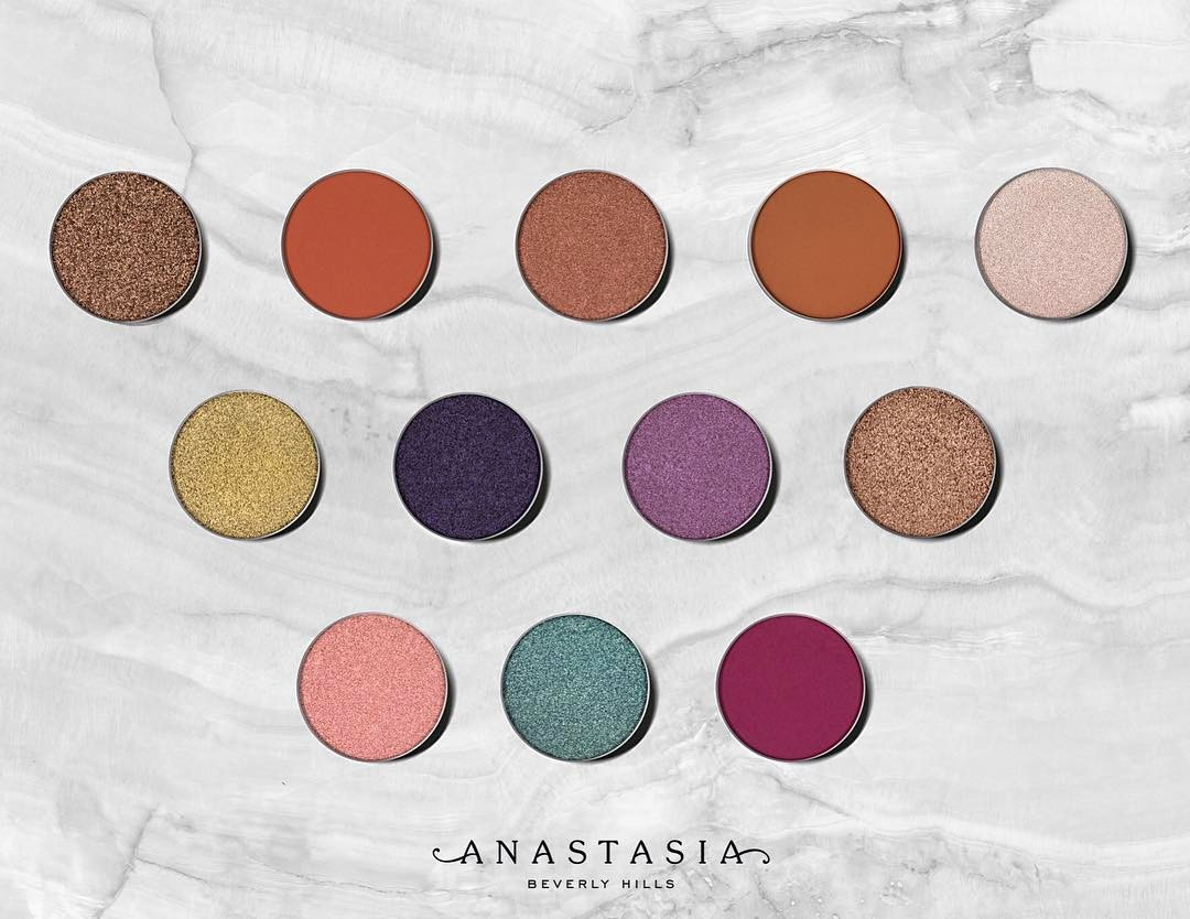 anastasia beverly hills single eyeshadows