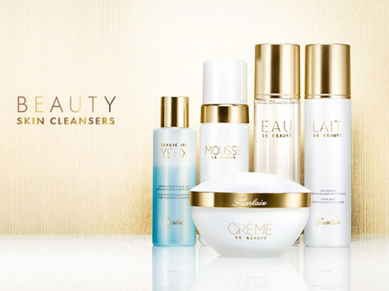 Guerlain Skin Beauty Cleansers range