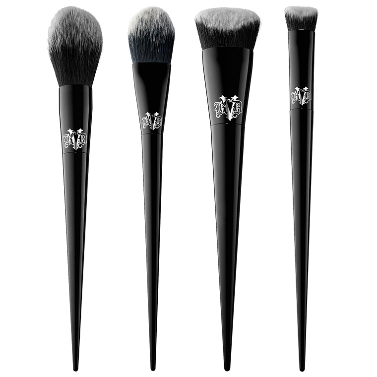 kat von d lock-it brushes