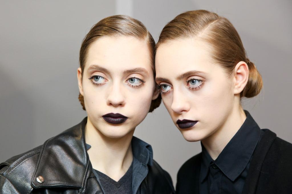 Dior Black Lip Fall Winter 2015/2016