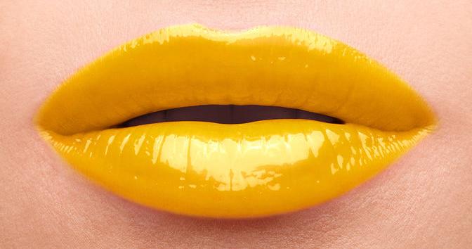 glossy stain undercoat yellow