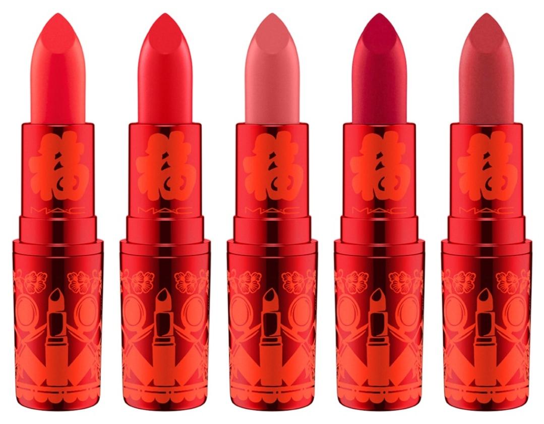 mac lipstick lunar new year 2019
