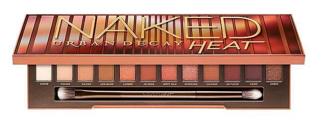 naked heat eyeshadow palette 2